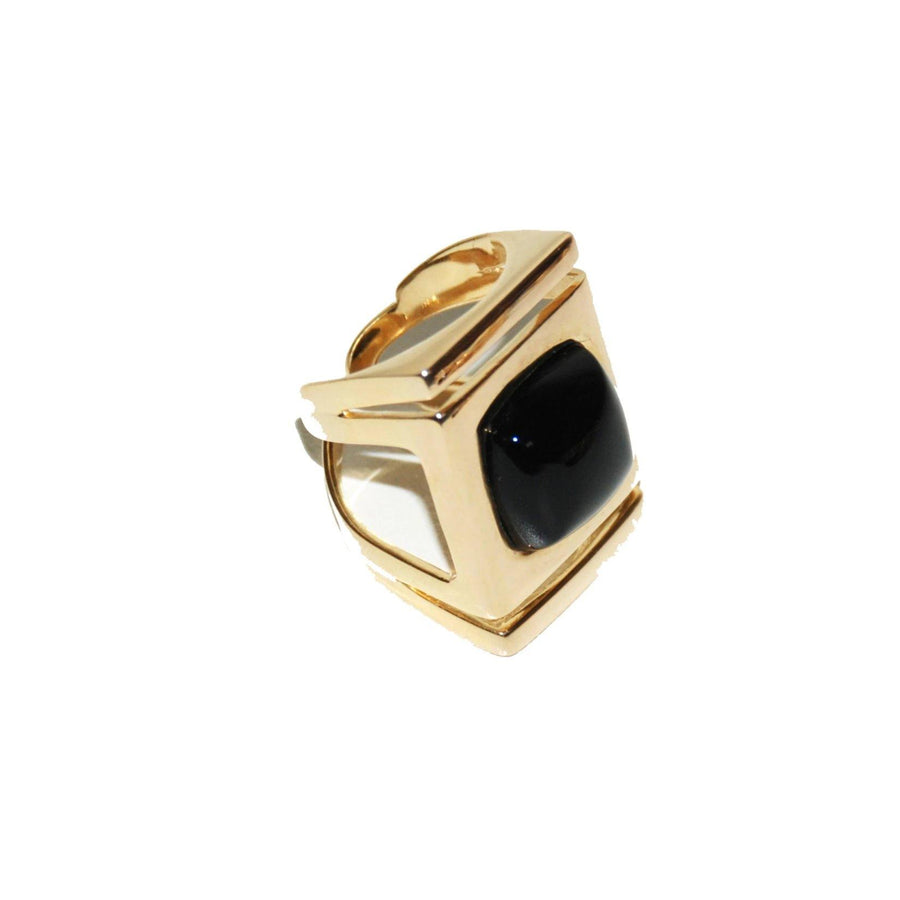Architectural Ring - Onyx