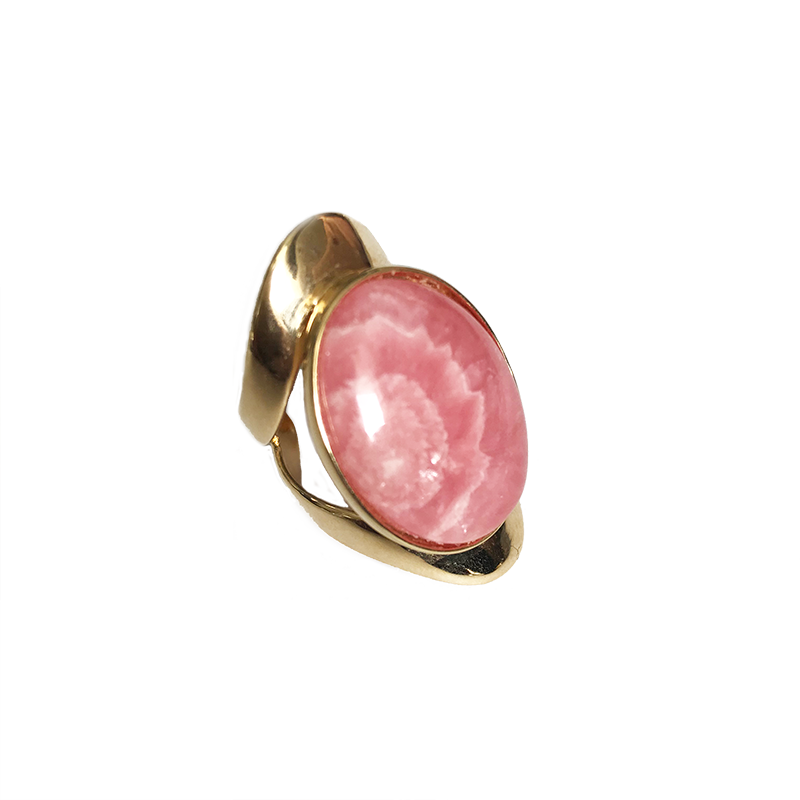 Allure Ring - Rhodocrosite