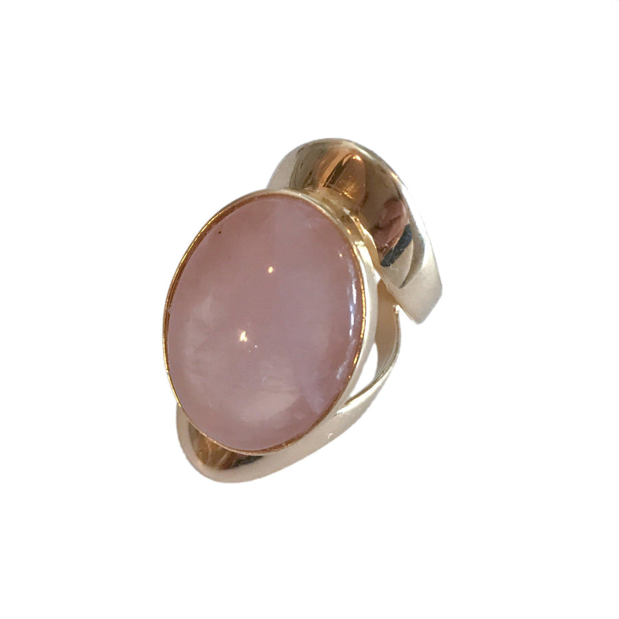 Allure Ring - Rose Quartz
