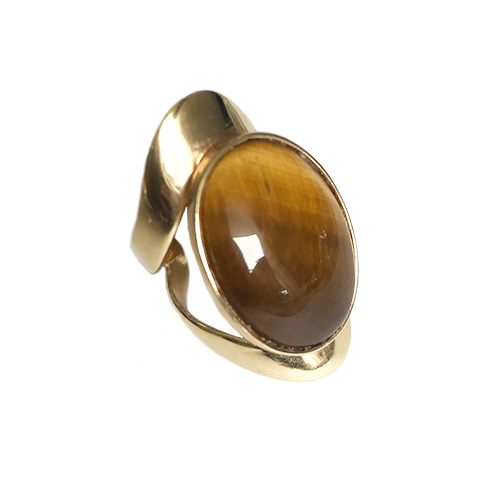Allure Ring - Tiger Eye