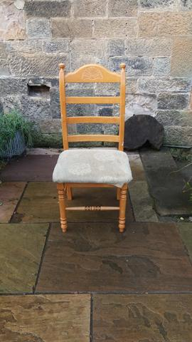 Vintage throne chair  available for reupholstery and painting your choice of colour