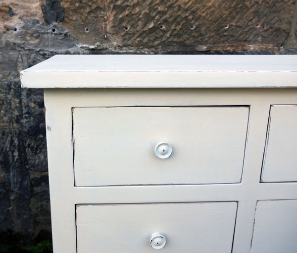 Custom listing for Ruth hand painted chest of drawers
