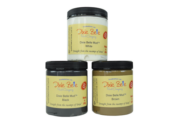 Dixie Belle Chalk Mineral Paint - Dixie Mud 8oz