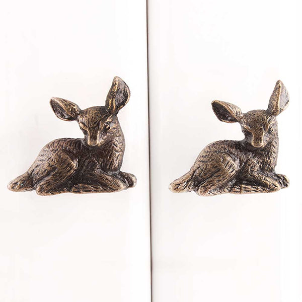 Fawn Metal furniture Knobs