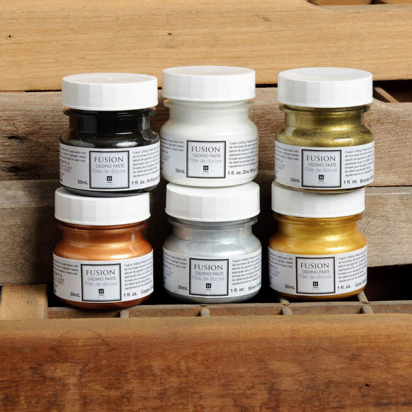 Fusion Mineral Paint Guilding paste UK stockist Emily Rose Vintage