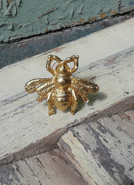 Gold BEE VINTAGE STYLE DRAWER KNOB