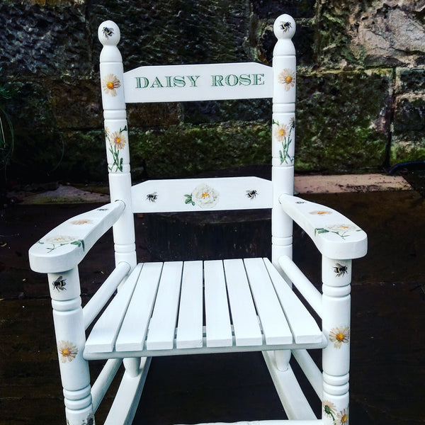 Custom Listing for Sophie Personalised children's rocking chair