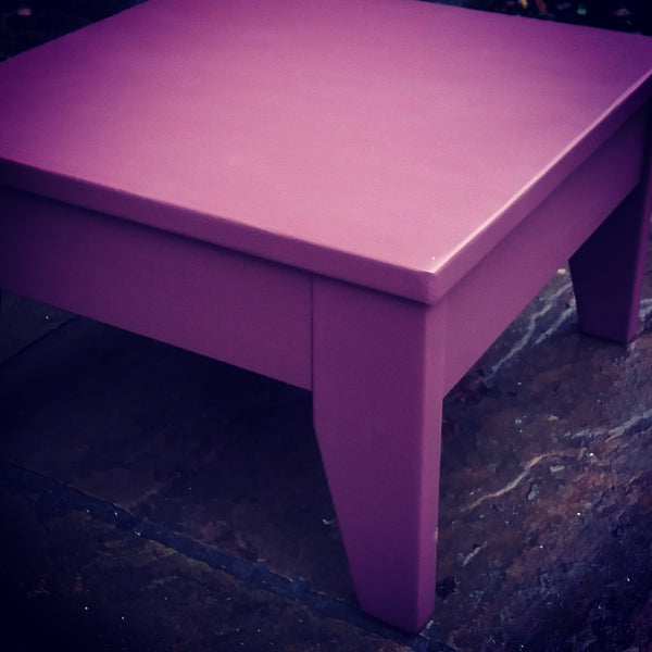custom listing for Farida Hand Painted coffee table in Fusion Mineral Paint