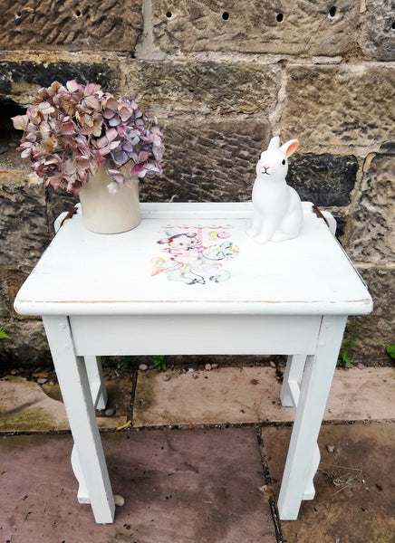 Hand painted vintage children's school desks, chairs or sets you choose design and colours