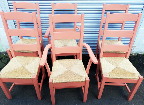 Custom Listing for mark and linda refurbished dining chairs