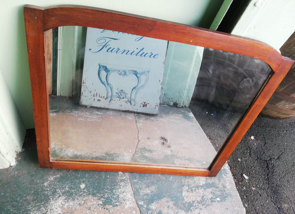 Vintage wall mirror - to have it painted please contact me to discuss what you would like. Price shown if for the piece finished and painted