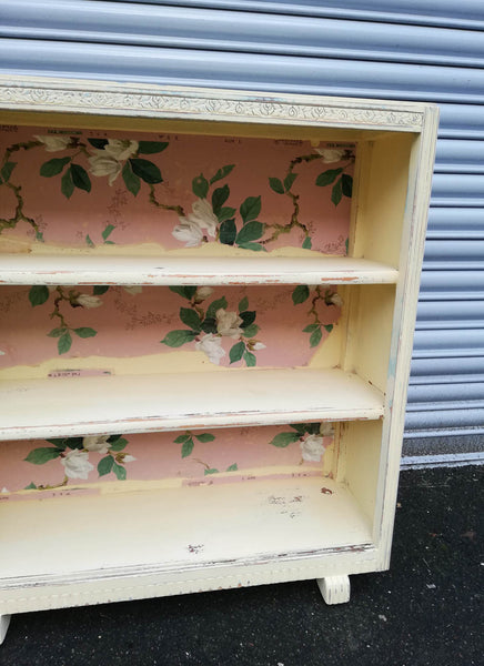 Reserved...Vintage book case