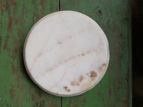 Antique stone chapati board. These make prefect trivets,pot stands or cheese boards