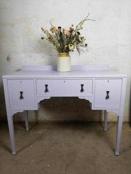 Custom Listing for Ailsa-Mary hand painted dressing table and stool
