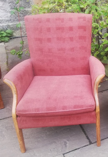 Vintage Parker Knoll chair available for reupholstery and painting your choice of colour