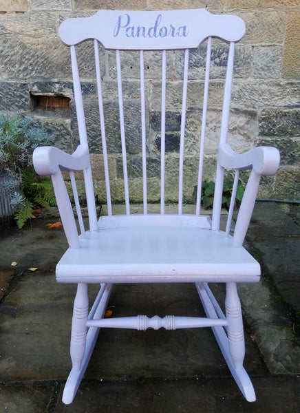 Custom order for Jenny Phillips Large Vintage Rocking Chair