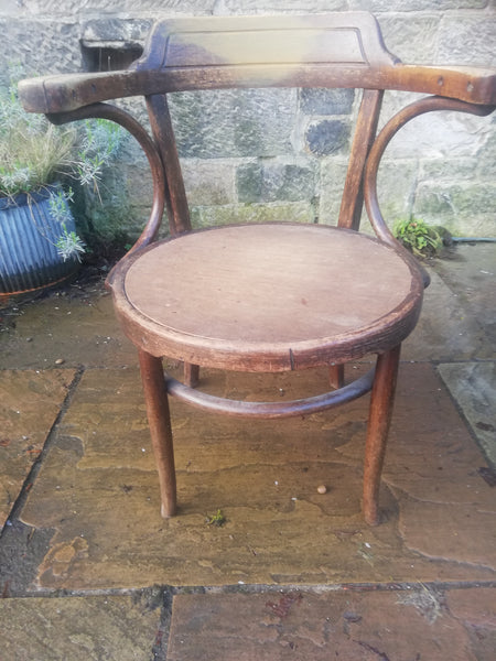 Vintage occasional chair available for  painting your choice of colour