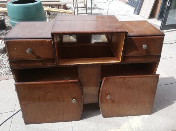 Vintage sideboard available for  painting your choice of colour