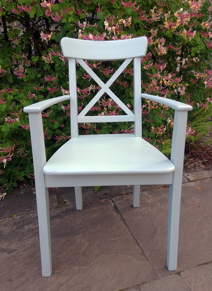 Custom Listing for Emma painted dining chair