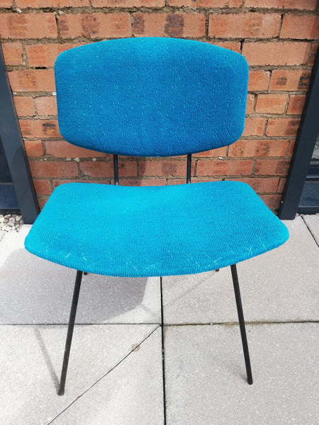 Vintage 1950's chair available for painting and reupholstery
