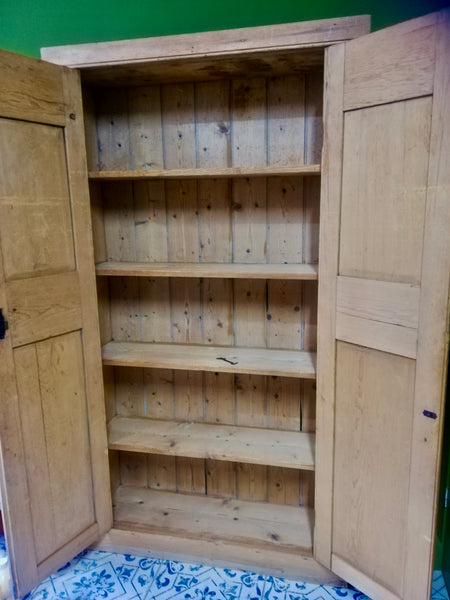 Beautiful vintage pine pantry cupboard