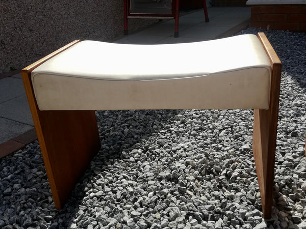 Vintage Mid Century Stag Cantata Dressing Table Stool