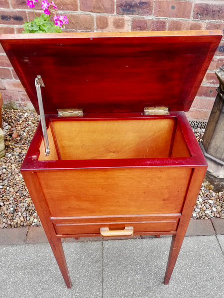 Vintage mid century sewing box