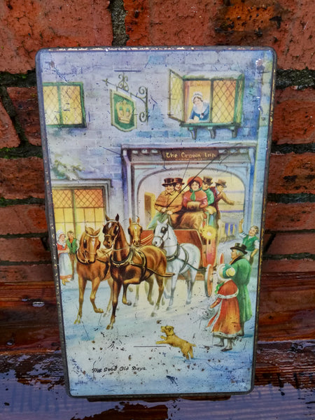 Lovely vintage Christmas tin