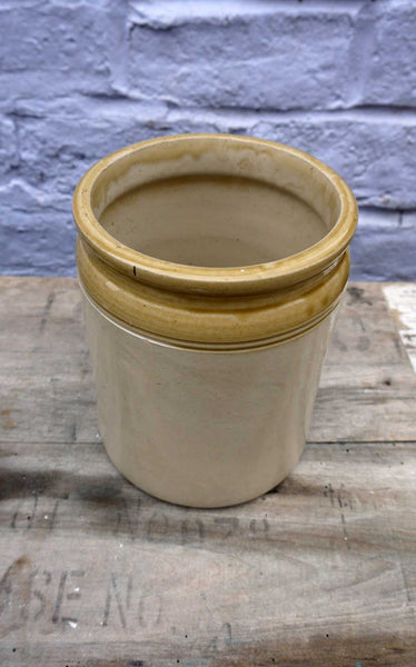 Lovely big stoneware utensil pot