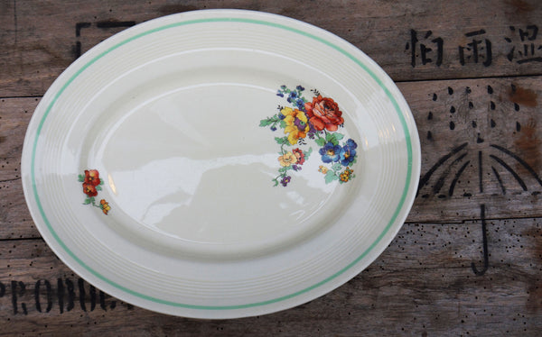 Lovely vintage serving platter plate