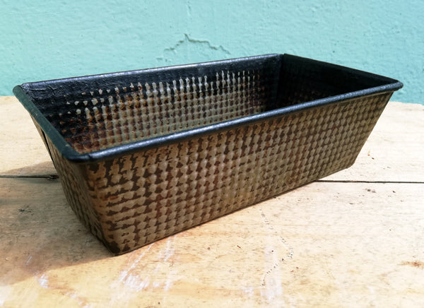 Rustic Vintage Kitchen bread / loaf / cake tin bakeware