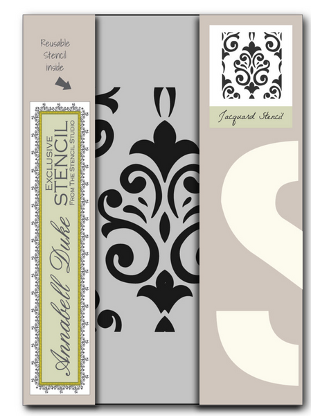 Annabell Duke Chalk Paint - Exclusive A4 Stencil, Finest Quality, 250 Mylar,