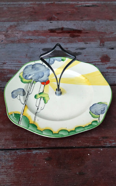 Vintage Art Deco Cake stand