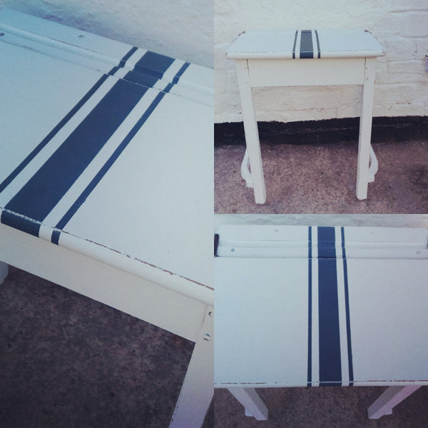 Vintage Childrens School Desk In Fusion Mineral Paint