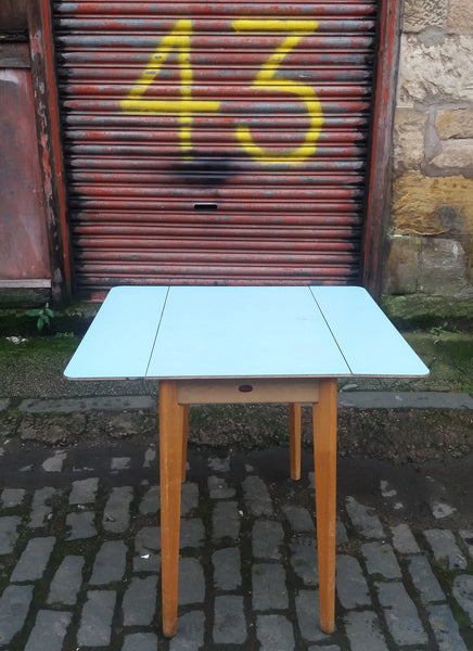 Vintage MCM formica Drop leaf table