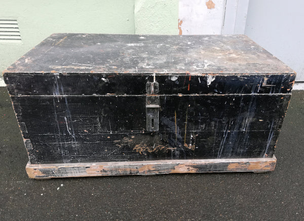 Vintage Trunk / Blanket Box - to have it painted please contact me to discuss what you would like. Price shown if for the piece finished and painted