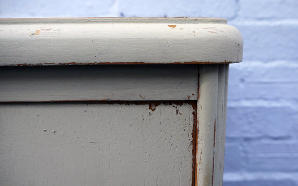 Vintage bedside cabinet hand painted in Miss mustard seed Milk Paint