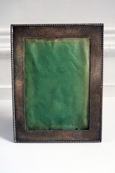 Vintage metal silver shabby chic picture photo photograph frame from Emily Rose Vintage
