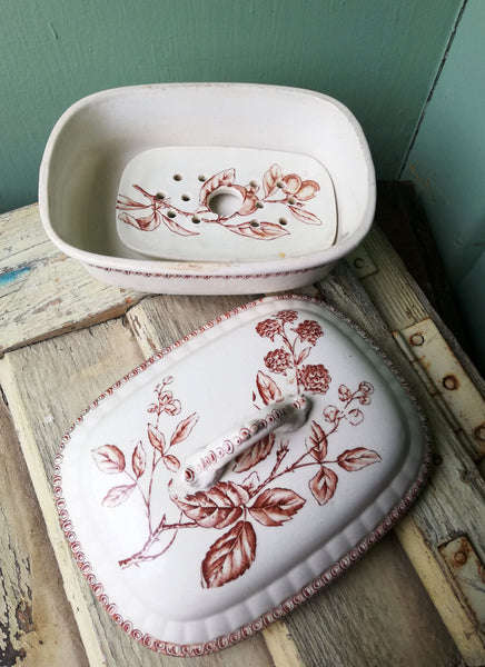 Beautiful antique soap dish