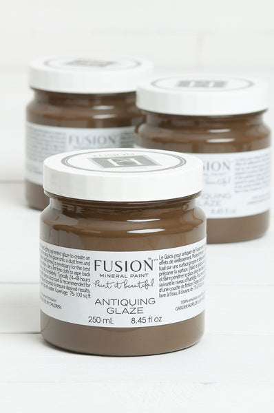 fusion mineral paint antiquing glaze uk stockist emily rose vintage