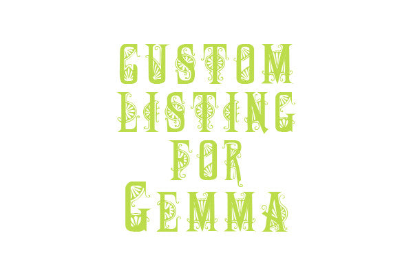 Custom Listing for Gemma 6 x vintage bird decoupage dining chairs