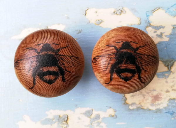 Hand made Bee design Vintage Style Drawer Knob furniture handle
