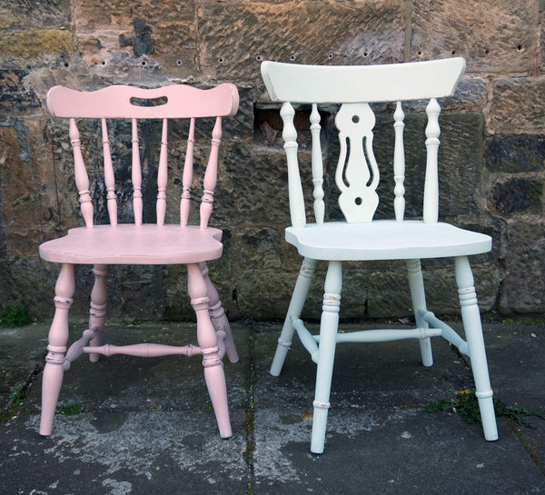 Custom Listing mismatched vintage dining chairs for Catriona