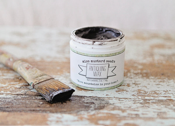 Miss Mustard Seed milk paint Antiquing Wax