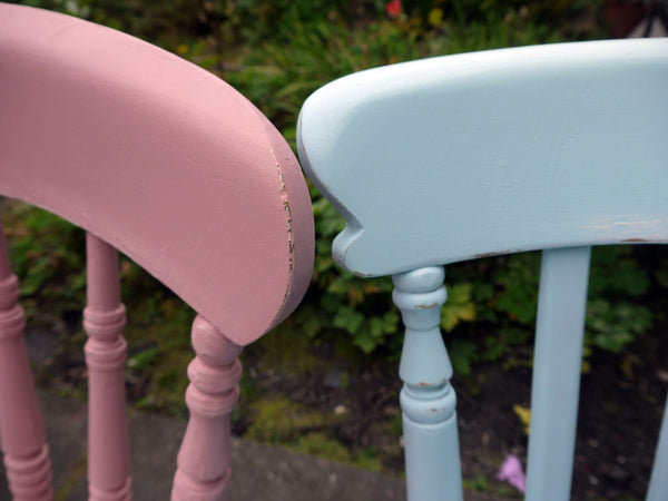 Custom listing for Emma mismatched vintage dining chairs