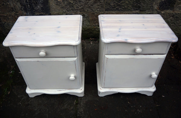 pairs of refurbished Bedside Cabinets