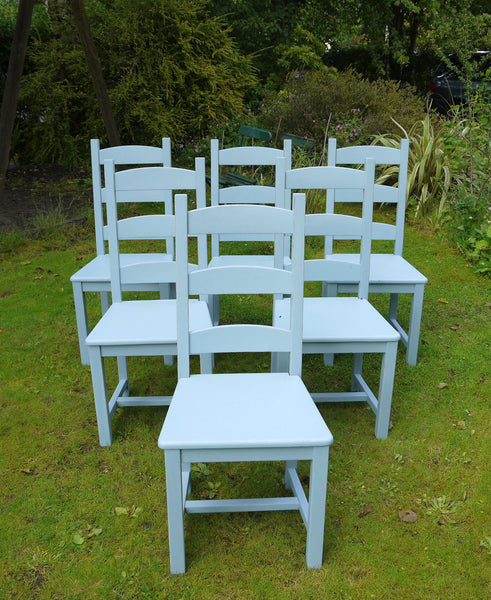 Custom listing for Angela at Cup Aberdeen handpainted cafe chairs and tables