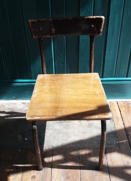 Vintage children's school chair