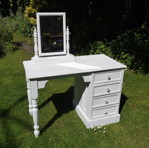 Custom listing for helen hand painted bedroom furniture in Miss Mustard Seed Milk Paint Ironstone