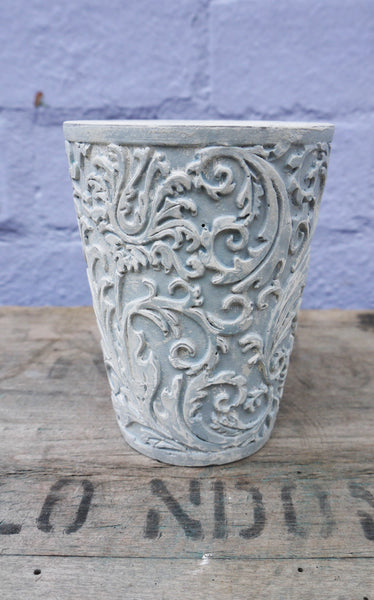 vintage embossed decorative candle holder by emily rose vintage